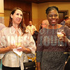 Attendees network at the Women in Business event.