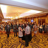 Hundreds network and enjoy the cocktail reception during the Women in Business event at Hilton Center City on Thursday.