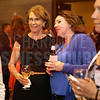Lifetime Achievement Winner Katie Tyler enjoys the cocktail reception at Women in Business.
