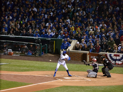 Cubs center fielder Dexter Fowler.
