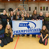 MIAA Div II Girls Cross Country Champions Tyngsborough High School. SENTINEL & ENTERPRISE / Jim Marabello