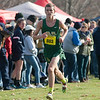Nashoba's Ryan Gillooly finishes strong at the Div I Boys Cross Country Districts held at Gardner Municipal Golf Course. SENTINEL & ENTERPRISE / JIm Marabello