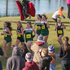 A pack of Oakmont girls run together in the Girl's Div II Cross Country Districts at Gardner Municipal Golf Course. SENTINEL & ENTERPRISE / Jim Marabello