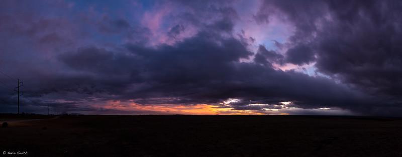 Western Horizon at Dusk
