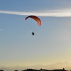 Watching Shawn Osen and his powered paraglider