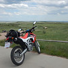 Soapstone Prairie ride with brother Randy