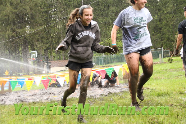 2016 Your First Mud Run at Camp Veritans 5/1/2016