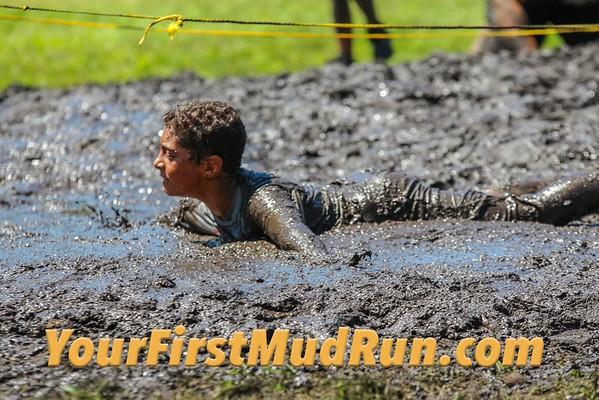 2016 Your First Mud Run at Garret Mountain in NJ 8/7/2016
