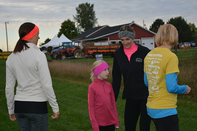 Linda kerkau - Morning Sun  The Zonta Applefest kicked off with a fun run on Saturday, Sept. 24, 2016.