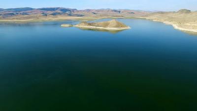 3-Island in Clark Canyon Lake