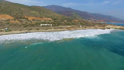 4-Drones above Leo Carillo