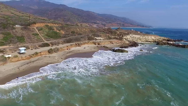 5-Drones complete their Leo Carillo flight