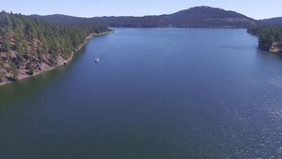2-Boat on Sheridan Lake