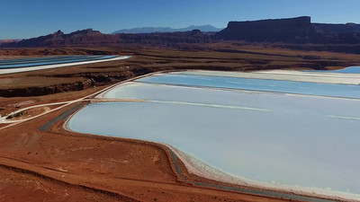 B-Potash evaporating pond-Moab