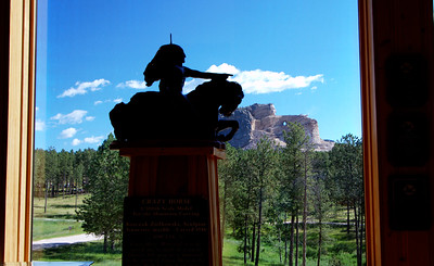 Mount Rushmore and Crazy Horse Monument