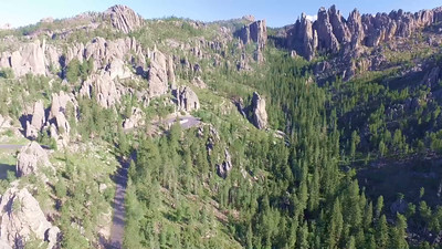 3-Soaring at the Cathedrals on the Needles Highway