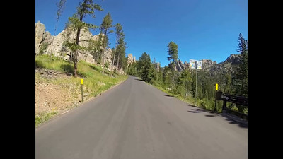 4-Continuing on the Needles Highway to the Spires