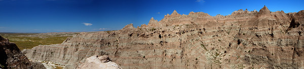 Canyon in Badlands-Panorama1