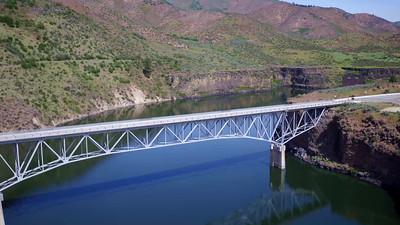 12-Soaring above the bridge