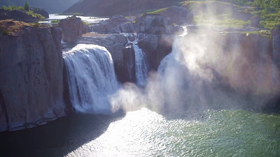 Shoshone Falls in morning Sun_02