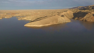 1-Soaring above Shoshoni-Boysen Reservoir