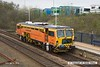 160415-004     Colas Rail track Tamper no DR73924 is captured passing through Mansfield Woodhouse, running as 6J39, 10.09 Newark shunt sidings, (Northgate) to Worksop.
