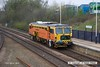 160415-002     Colas Rail track Tamper no DR73924 is captured passing through Mansfield Woodhouse, running as 6J39, 10.09 Newark shunt sidings, (Northgate) to Worksop.