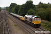 160831-015  GB Railfreight class 66/7 no 66766 passing Tupton with departmental, train 6M73, 10.53 Doncaster up decoy to Toton north yard.