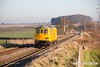 161229-041  Network Rail re-engineered class 73/9 No 73951 Malcolm Brinded is captured passing the former Clipstone West Junction working road learner 0Z73, 0804 Derby R.T.C. - Derby R.T.C.. This visited Barrow Hill before returning to the R.T.C.