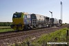 160524-010     Network Rail Multi Purpose Vehicles (MPV's) no's DR98959 and DR98909 are seen passing Clipstone Junctions on the former LDECR, heading to the High Marnham Test Track with the annual weedkiller, running as 6Z12, 06.00 Toton T.M.D. to Toton T.M.D..