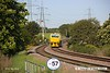 160524-001     Network Rail Multi Purpose Vehicles (MPV's) no's DR98959 and DR98909 are seen passing Clipstone Junctions on the former LDECR, heading to the High Marnham Test Track with the annual weedkiller, running as 6Z12, 06.00 Toton T.M.D. to Toton T.M.D..