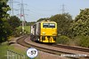 160524-003     Network Rail Multi Purpose Vehicles (MPV's) no's DR98959 and DR98909 are seen passing Clipstone Junctions on the former LDECR, heading to the High Marnham Test Track with the annual weedkiller, running as 6Z12, 06.00 Toton T.M.D. to Toton T.M.D..