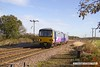 161110-012  Northern class 144 unit no 144003 passes Rushey Sidings, Retford with 2R13, the 10.25 Lincoln to Adwick.