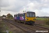 161110-016  Northern class 144 unit no 144010 passes Rushey Sidings, Retford with 2P63, the09.19 Scunthorpe to Lincoln.