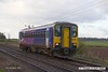 161110-008  Northern class 153 unit no 153304 passes Rushey Sidings, Retford with 2P80, the 09.44 Sheffield to Lincoln.