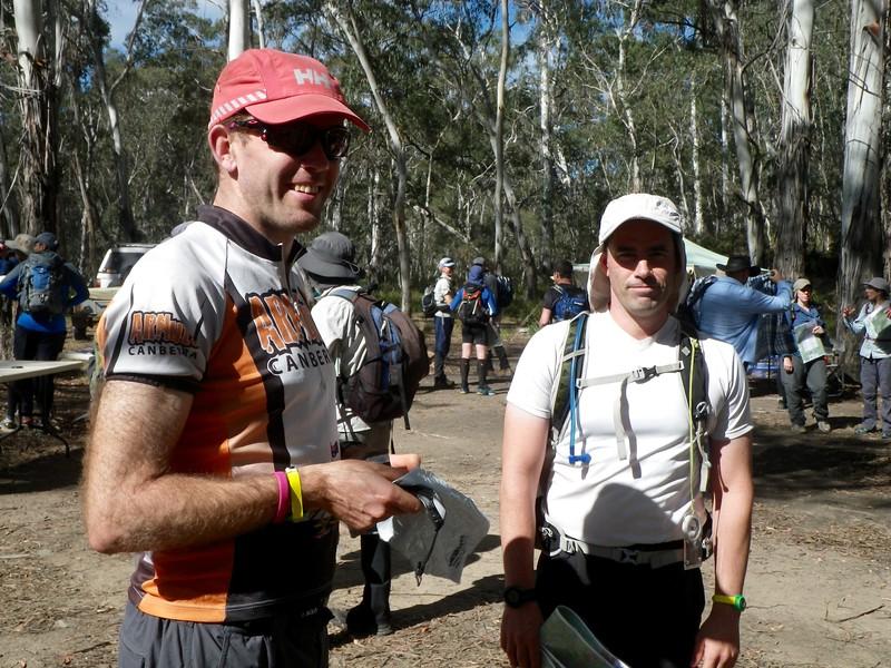 Steve Hanley and Kieran MacDonnell