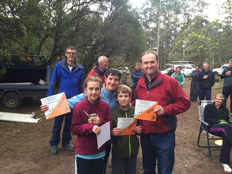 Family Winners - Day