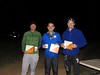 Sam Burridge, Martin Dent and Brad Hetharia. 12 hr winners overall and open mens.