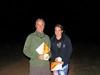 Andrew and Jemma Duerden. 12hr family winners