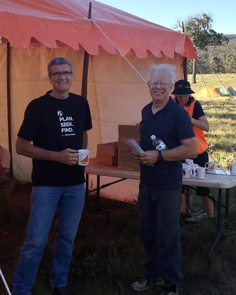 Graham Field and Martin Dearnley - 6 hr Winners Mens Supervets