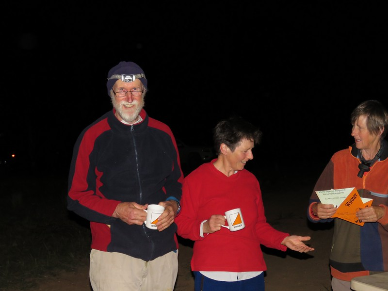 Ron Simpson and Jean Douglass. 12 hr winners mixed supervets