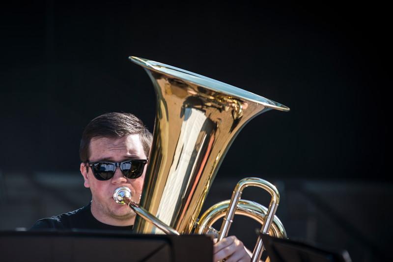 School of Music Tuba student