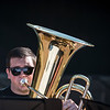 School of Music Tuba student