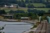 2613 + 2610 + 2615 + 2606 cross Slattey Viaduct with the 1400 Cork - Cobh. Sat 27.08.16