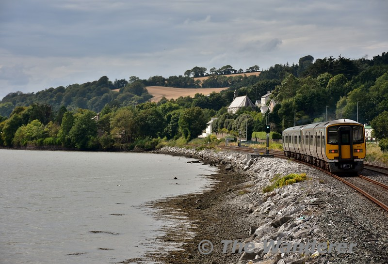 2616 + 2605 + 2610 + 2613 depart from Glouthaune with the 1530 Cobh - Cork. Sat 27.08.16