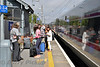 Passengers off the failed train at Malahide. Sat 26.08.16<br /> <br /> Picture courtesy of Barry Pickup.