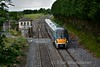 22003 passes Cherryville Jct. with the 1320 Portlaoise - Heuston. Thurs 23.06.16