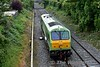 216 heads to the middle road at Kildare to couple to the Ety. Timber train. Thurs 23.06.16