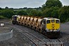 073 and 072 stabled at Portarlington Ballast Siding with a HOBS Train. Wed 22.06.16