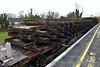 Redundant track panels heading back to Portlaoise for scrapping. Fri 04.03.16